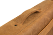 Rough Rider Leather Laptop Messenger — leather handle held in place with sturdy rivets