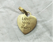 Charmulet Reveals a Special Mother's Day Gift Idea with New 14K Gold Plated Mom's Heart Charm Inscribed with a Child's Message