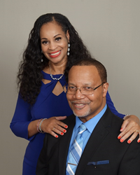 Mr. and Mrs. Cary and Bonnie J. Edwards, Owners of Club Z! Tutoring of Milwaukee and Brookfield