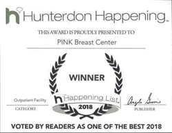 PINK Breast Center Awarded Best Outpatient Facility