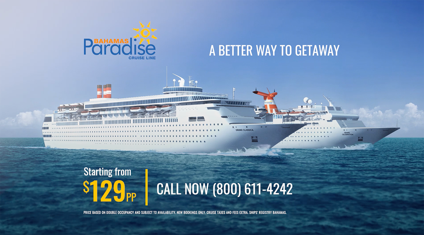 Worldmedia Interactive Launches New Campaign For Bahamas Paradise Cruise Line Expansion