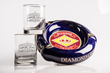 Diamond Crown Ashtray and Rocks Glasses prize package