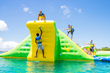 Splash-n-Dash Aqua Park Set to Open at Central Valley's Lake McSwain