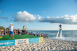 Caroline Wozniacki Takes Part in World's First Serves the Sun Fly-Board Rally on Grand Cayman Visit