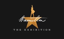 Hamilton: The Exhibition Logo