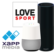 LOVE SPORT Radio Launches 10 Fan Shows As Podcasts on Alexa and Google Assistant