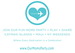 "Fun Social Travel Reward ""Our Moms Party"" Launches to Celebrate Mother's Day Everyday"