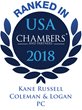 Kane Russell Coleman Logan Ranked in Chambers USA 2018