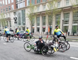 The ride included more than 600 cyclists, 100 of which are adaptive athletes—many of whom are active duty military personnel,  U.S., Canadian and European military veterans.