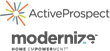 Modernize and ActiveProspect Partner to Offer Certified Home Improvement Leads
