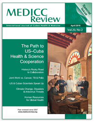 April 2018 MEDICC Review Cover