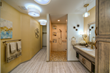 Aging-in-Place bathroom design by Bonnie J. Lewis of 55+ TLC Interior Design, LLC, a part of the major space remodel project that won the designer the NAHB Remodelers Homes for Life Award