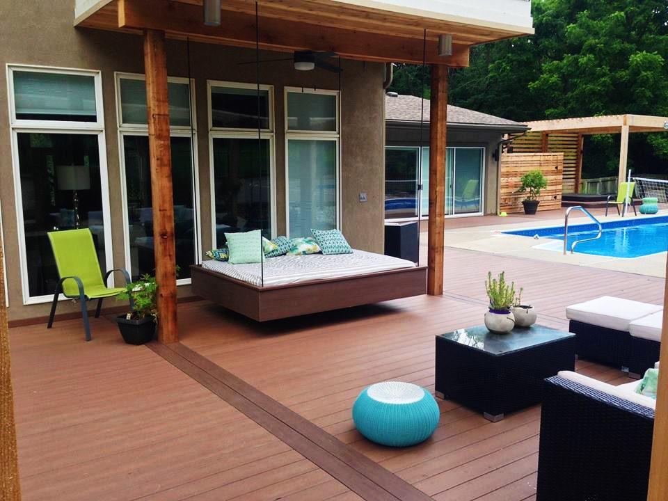 creative concepts design chooses camo edge fastening for deck