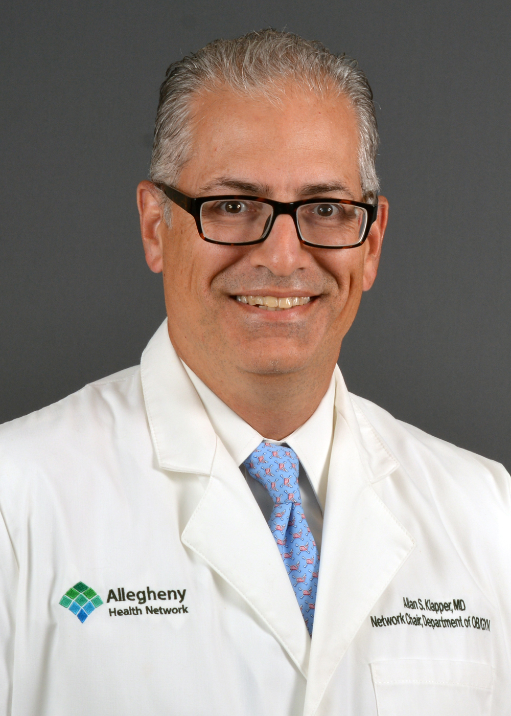 Allegheny Health Network Names Allan Klapper, MD, President of New