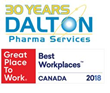 DALTON Named One of the Top 50 Companies to Work for in Canada