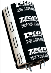 Tecate Group Announces Availability of 3V Medium-Size Ultracapacitors