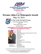Terrance Alton Cox Motorsports Awards Celebrated May 18 at NASCAR Hall of Fame