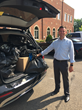Realtor Aaron Brown collects shoes for Soles4Souls