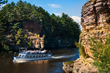 Wisconsin River Beckons to Quiet Cruisers and Adventure Seekers on Dells Boat Tours