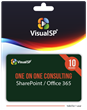 VisualSP introduces Gift Cards for their One-on-One Consulting Service for SharePoint and Office 365