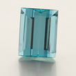 30 ct. Baguette Aquamarine by Jeffrey Bilgore.