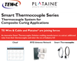 TE Wire & Cable Partners with Plataine for Smart Thermocouples Solution