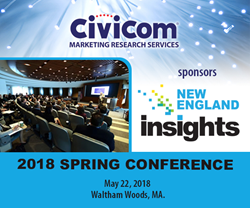 Sponsor Civicom at New England Insights 2018 Spring Conference Waltham Woods Massachusetts