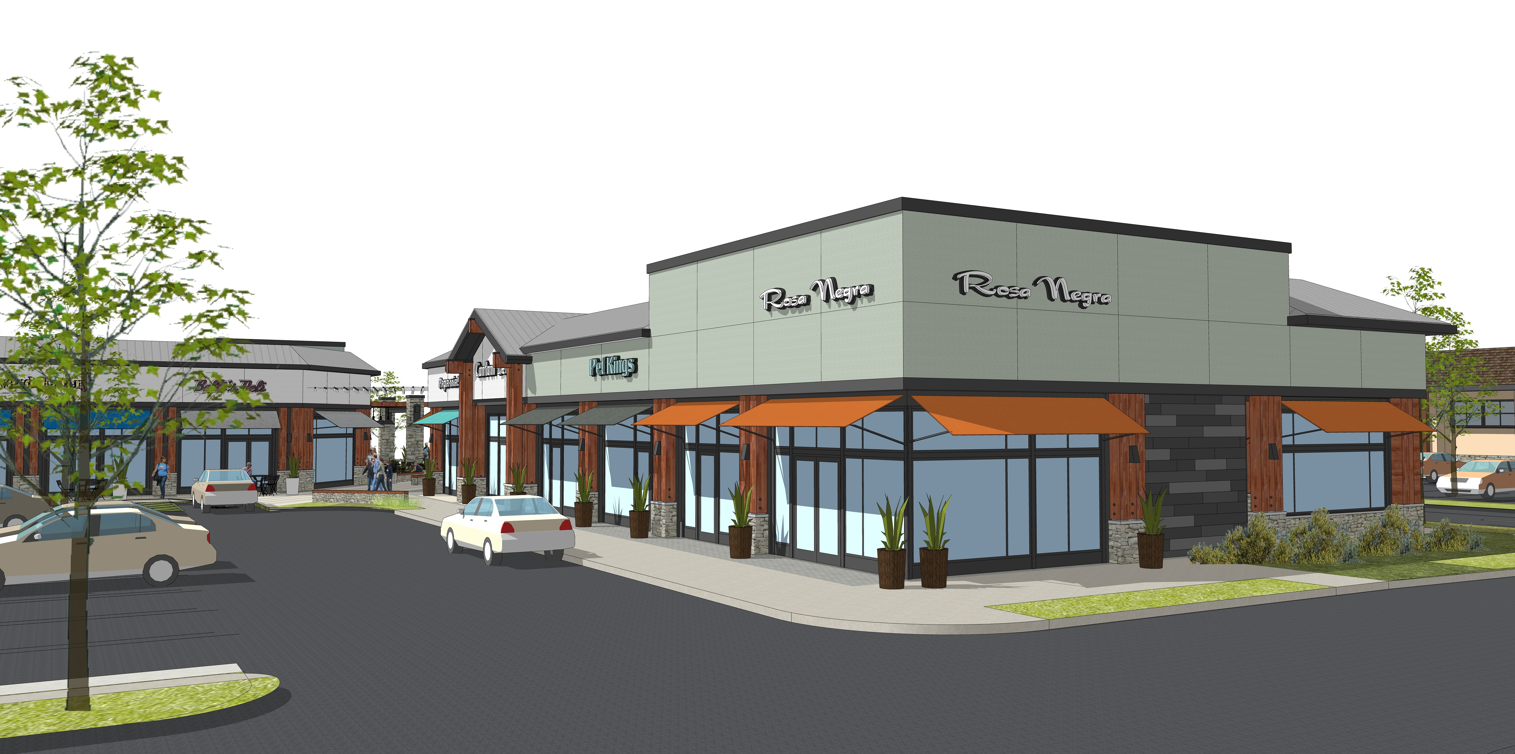 rossmoor shopping center redevelopment leaps forward
