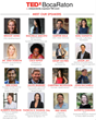 TEDxBocaRaton Announces Expert Speaker Lineup - Seven from MIT and seven local entrepreneurs
