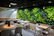 LiveWall Indoor Living Wall Livens Up Coava Coffee's New Location