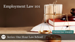 "Financial Poise™ Announces ""Employment Law 101,"" a Webinar Premiering May 22nd at 11:00 AM CST"