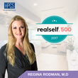 Dr. Regina Rodman of HPCS receives RealSelf 500 Award