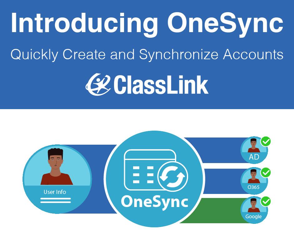 ClassLink Announces OneSync, Next Generation Account