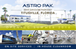 Opening Date Draws Near for Astro Pak's Space Coast Facility