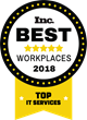 Waggl is one of Inc. Magazine's 2018 Best Workplaces