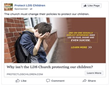 Protect LDS Children Launches Multi-Week Ad Campaign Urging Mormon Church Leaders to End One-on-One Meetings with Children