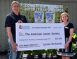 Lyman Orchards Donates Over $27,000 to American Cancer Society, Proceeds from 2017 Corn Maze
