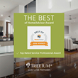"Treeium Receives 2018 ""Best of HomeAdvisor"" Award"