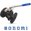 Bonomi Introduces ANSI Class 150 Flanged Full-Port Ball Valves With Spring Return Handles