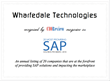 Wharfedale Recognized by CIOReview Magazine as One of the 20 Most Promising SAP Solution Providers