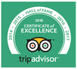 The Eden Resort & Suites Announces TripAdvisor Hall of Fame Award
