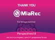 MiaRec to Sponsor Ribbon's Perspectives18  Annual Customer & Partner Summit in Los Angeles