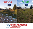 Texas Sponsor A Highway Completes Four Months of Clean-up on the Houston Roadways Following Hurricane Harvey