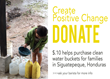"Crimson Cup Launches ""10 Cents of Change"" Fundraising Drive to Provide Clean Water for Coffee-Growing Families in Siguatepeque, Honduras"