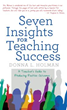 New Book Presents 'Seven Insights for Teaching Success'