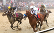 The Stirrups of Champions - Mike Smith Wins the 143rd Preakness Stakes Wearing American Equus Thoroughbred Racing Irons