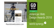 World Synergy Wins 2018 Graphic Design USA (GDUSA) American Web Design Award for Third Consecutive Year