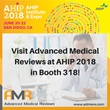 Advanced Medical Reviews is Exhibiting at the 2018 AHIP Institute in San Diego, CA, June 20-22