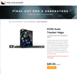 Pixel Film Studios Unveils FCPX Auto Tracker Vega for Final Cut Pro X.
