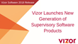 Vizor Launches New Generation of Supervisory Software Products